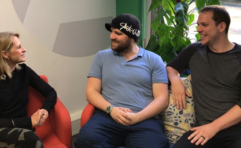 Two devs on a sofa: special guest Wera Hobhouse MP