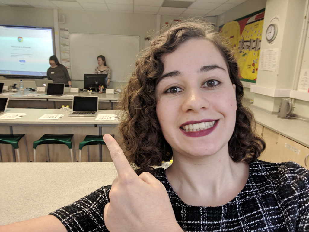 Alumni get girls into coding with Soroptimist International